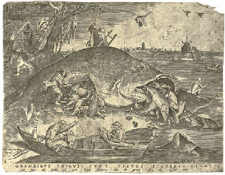 The large Fishes devouring the