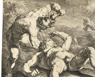 Cain killing Abel, after C. va