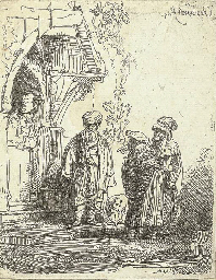 Three Oriental Figures (Jacob