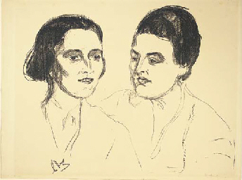 Louise and Else Heyerdahl (Sch