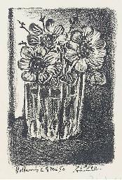 Fleurs dans un Vase (B. 674; M