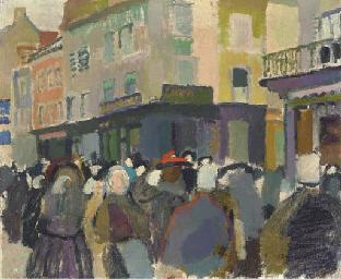 Le marché à Falaise