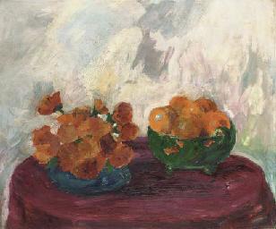 Stilleben (Orangen und gelbe B