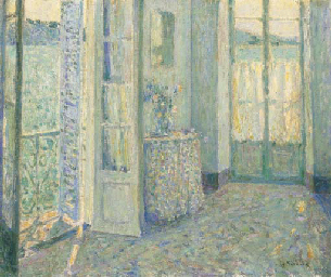 La chambre bleue, Villefranche