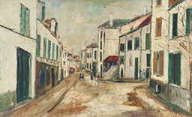 Grande rue à Groslay