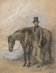 A gentleman with his horse