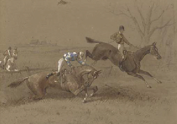 Incidents on the steeple chase