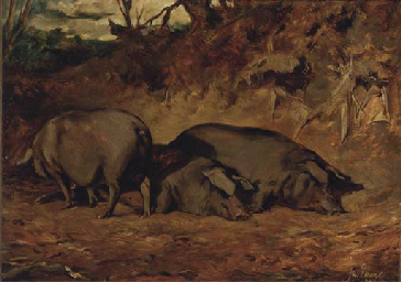 Pigs in a wood
