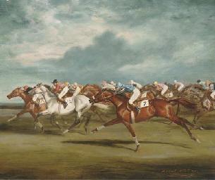 Racing at Newmarket
