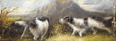 Gundogs on the scent; and Dogs