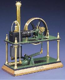 An unusual model air engine,