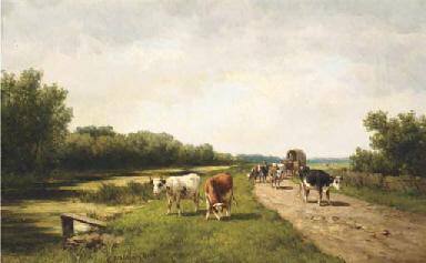 Vaart bij Vogelenzang: cattle