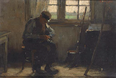 A man in his workshop