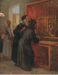 Jewish visitors at the zoo