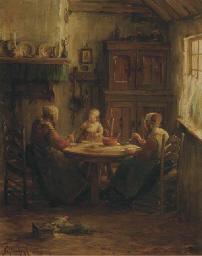 Teatime in Marken