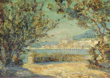 A view of Menton on the Medite