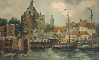 A view of the Schreierstoren a