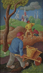 Farmers at work