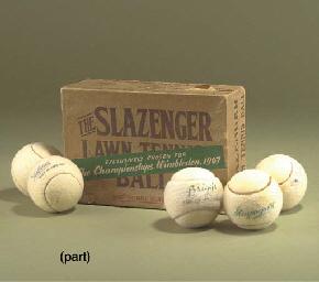 1947 LAWN TENNIS BALL BOX