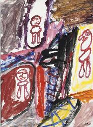Site avec trois personnages
