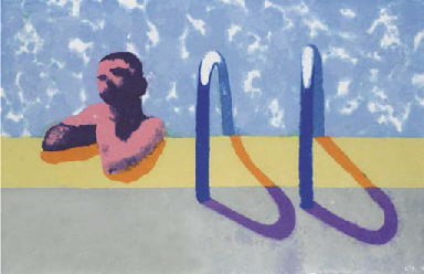 Gregory in the Pool I (Paper P