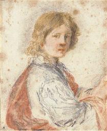 A young man, half-length