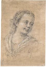 Portrait of a girl, bust-lengt