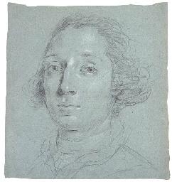 Portrait of a man, bust-length