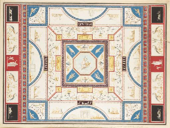 A design for a ceiling with Ju
