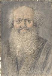 A bearded man, bust-length