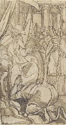 Cardinal Pandulph granting Kin