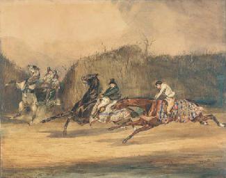 La rencontre evitée: Galloping