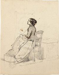 Louise Becq de Fouquières pain