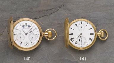 Hamilton & Co.: A gold keyless