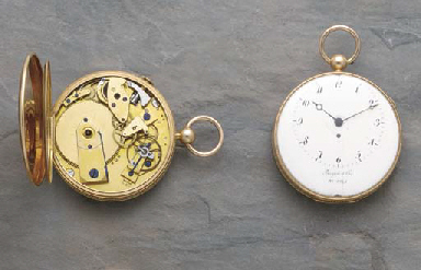 Breguet et Fils. A rare gold o