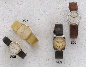 Rolex: A Ladies 18ct Gold Wris