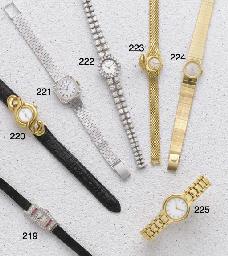 Rolex: A Ladies 18ct White Gol