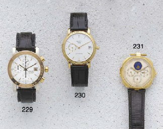 Zenith: An 18ct Gold Automatic