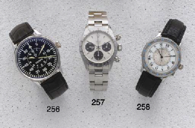 Rolex: A stainless Steel Chron