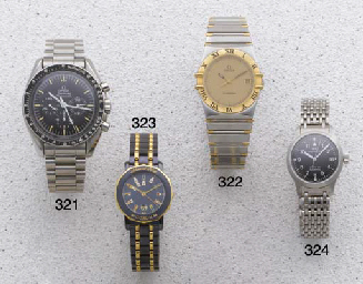 Omega: A gold steel quartz cal