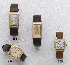 Rolex: A 14ct Gold Centre Seco
