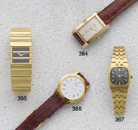 Piaget: A Slim 18ct gold wrist