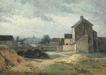 Vue de Paris depuis Montmartre