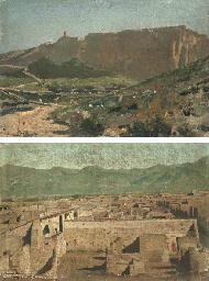 Vue de Capri; et Vue de Pompei