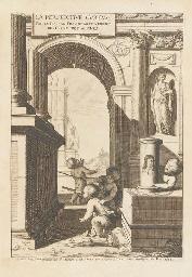 NICÉRON, Jean-François (1613-1646). La perspective curieuse ou magie artificielle des effets merveilleux. Paris: Pierre Billaine, 1638.