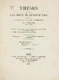 POINCARÉ, Henri (1854-1912). T