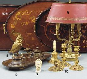 An Austrian gilt bronze model