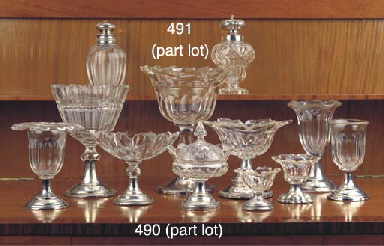 (10) Ten various silver and cu