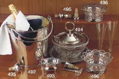 A Dutch silver ice-pail