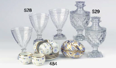 (8)  A set of eight French eng